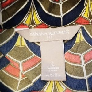 Banana Republic Tops - BANANA REPUBLIC COLORFUL TANK TOP, SIZE L